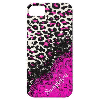 PixDezines leopard spots/faux lace iPhone 5 Case