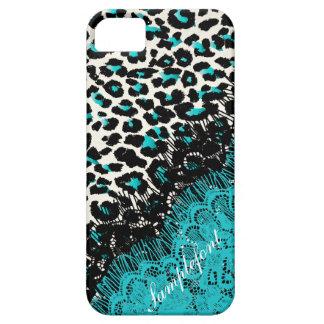 PixDezines leopard spots/faux lace iPhone 5 Cases