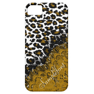 PixDezines leopard spots/faux lace iPhone 5 Covers