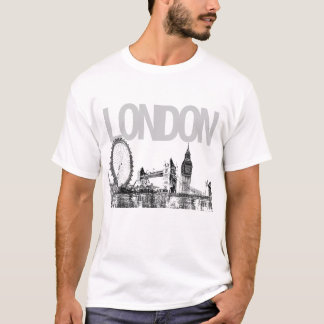 PixDezines london/citiscape T-Shirt