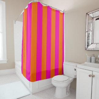 PixDezines Mandarin Orange/Pink/Stripes Adjustable