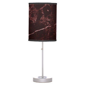 PixDezines MASALA RED MARBLE Table Lamp