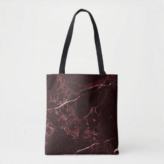 PixDezines MASALA RED MARBLE Tote Bag