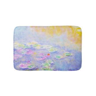 PixDezines monet lily pond at giverny Bath Mat