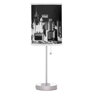 PixDezines New York skyline Table Lamps