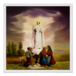 PixDezines Our Lady of Fatima poster