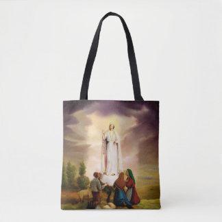 PixDezines Our Lady of Fatima Tote Bag