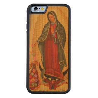 PixDezines Our Lady of Guadalupe Cherry iPhone 6 Bumper