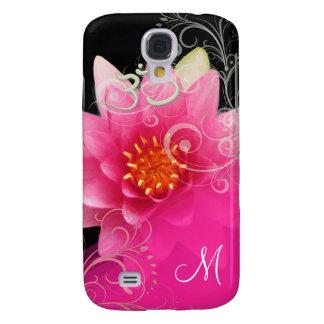 PixDezines Pink Lotus/ Water Lily + Om