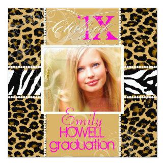 PixDezines/please use 2013/ 2012 Grads, cheetah Card