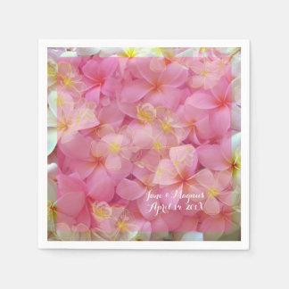 PixDezines Plumeria Paper Napkin