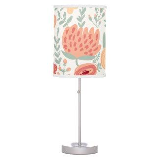 PixDezines protea/DIY color background Table Lamp