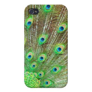 PixDezines Psychedelic Peacock Case For iPhone 4