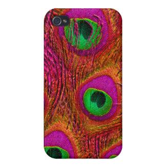 PixDezines Psychedelic Peacock iPhone 4/4S Case
