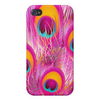 PixDezines Psychedelic Peacock iPhone 4/4S Cases