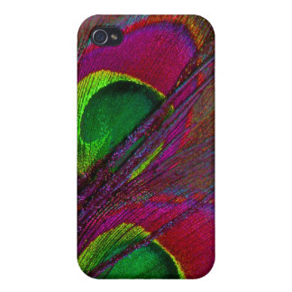 PixDezines Psychedelic Peacock iPhone 4/4S Cases