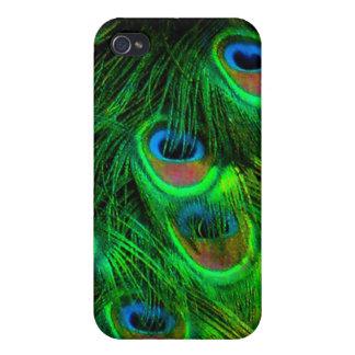 PixDezines Psychedelic Peacock iPhone 4/4S Covers