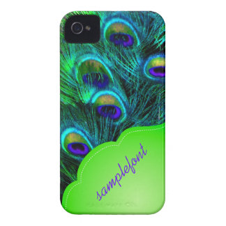 PixDezines psychedelic peacock iPhone 4 Case-Mate Cases