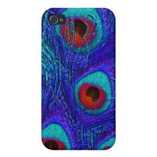 PixDezines Psychedelic Peacock iPhone 4 Cases