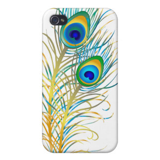 PixDezines Psychedelic Peacock iPhone 4 Cover