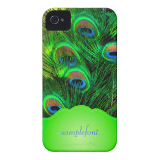 PixDezines psychedelic peacock iPhone 4 Covers