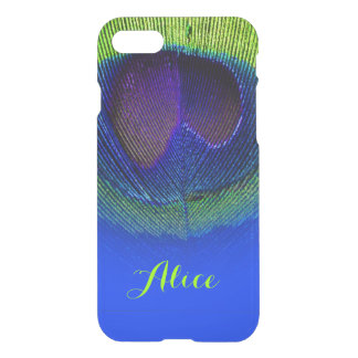 PixDezines Psychedelic Peacock Plume iPhone 8/7 Case