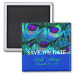 PixDezines Psychedelic Peacock, Save the Date