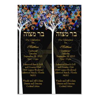 PixDezines psychedelic tree of life/celebration Card
