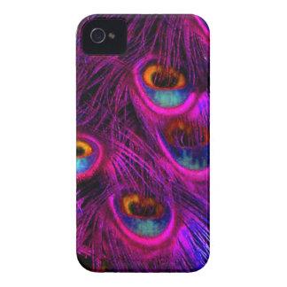 PixDezines Psychedellic Peacock Case-Mate iPhone 4 Case