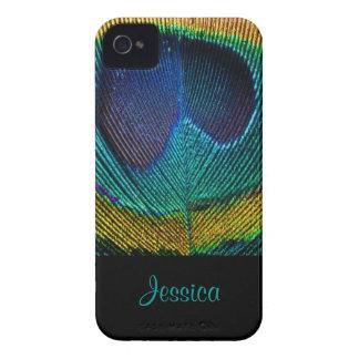 PixDezines Psychedellic Peacock/DIY Case-Mate iPhone 4 Cases