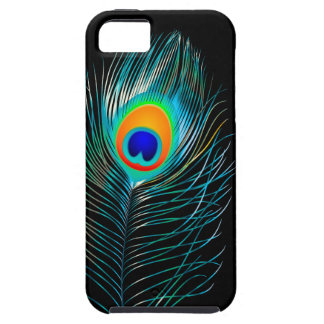 PixDezines pzazz peacock plume+filigree swirls iPhone 5 Cases