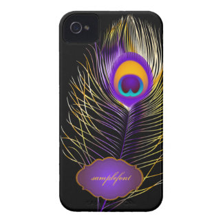PixDezines pzazz peacock plume iPhone 4 Case