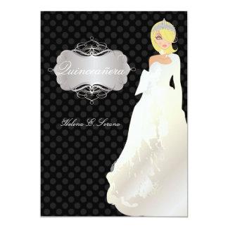 PixDezines Quinceañera/Quince años princess Card