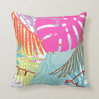 PixDezines rainforest/diy background colors Throw Pillow