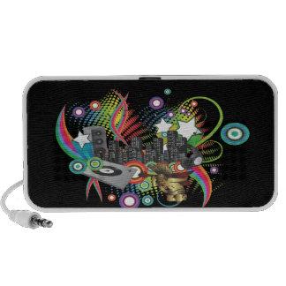 PixDezines Retro DJ ♥♥♥♥ Mp3 Speaker