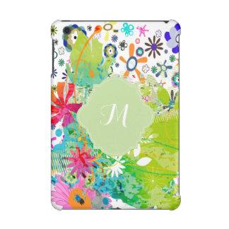 PixDezines retro flora/diy background color iPad Mini Cover