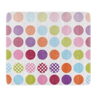 PixDezines retro polka dots Cutting Board