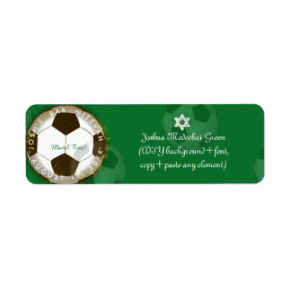 ✡ PixDezines Soccer Bar Mitzvah
