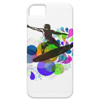 PixDezines Surfer Grunge iPhone 5 Cover