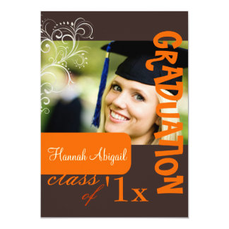 PixDezines Swirls, 2011 Graduation, Custom Color Card