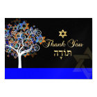 PixDezines thank you, tree of life Card