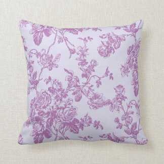 PixDezines toile/roses/vector/diy background Throw Pillow