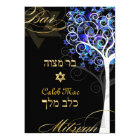 PixDezines tree of life mitzvah/DIY background Card