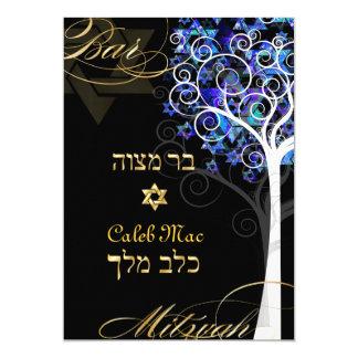 PixDezines tree of life mitzvah/DIY background Card