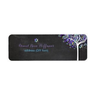 PixDezines tree of life/purple/mitzvah