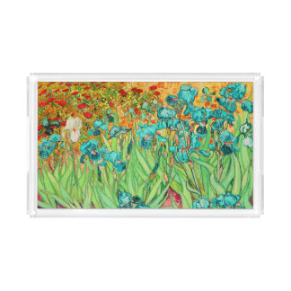 PixDezines van gogh iris/st. remy Acrylic Tray