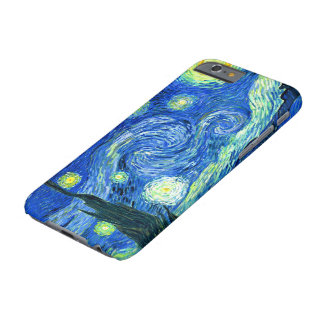 PixDezines Van Gogh Starry Night/St. Remy Barely There iPhone 6 Case