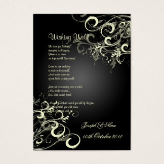 PixDezines vanilla swirls/diy background color Business Card
