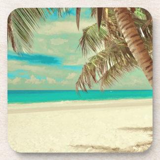 PixDezines vintage beach Drink Coasters