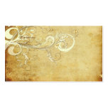 PixDezines vintage cream swirls Pack Of Standard Business Cards